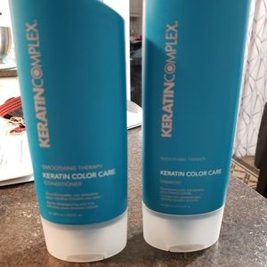 Keratin Complex Smoothing Therapy Shampoo and Cond